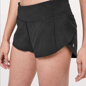 lululemon athletica Shorts - Lululemon black speed shorts
